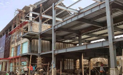 Jasa Konstruksi Baja WF di Bali
